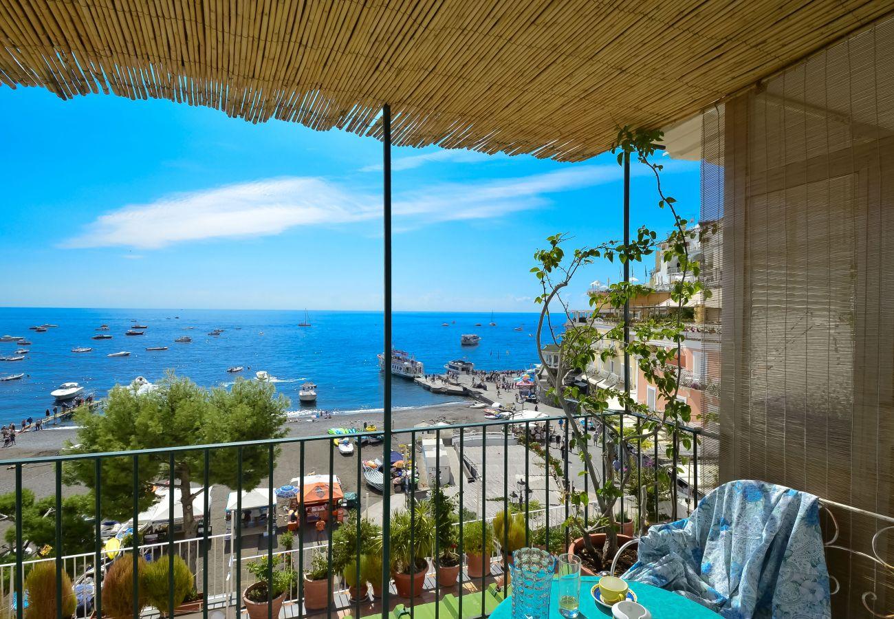Casa a Positano - Casa Raffi con Vista Mare sulla Spiaggia di Positano