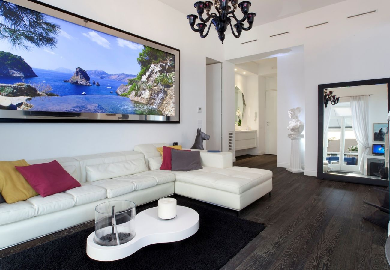 Apartment in Sorrento - Diamond Home de Luxe with Private Terrace, Jacuzzi and Air Conditioning