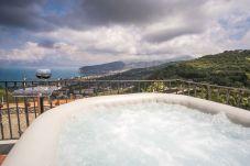 Villa in Sorrento - Villa Fedela with Seasonal Hot Tub, Sea View and Parking near Sorrento