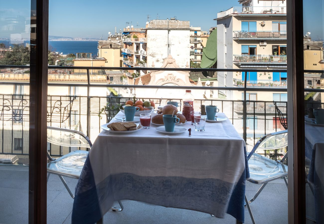 Apartment in Sorrento - Apartament Erica with Private Terrace, Air Conditioning and WI-FI near piazza Tasso