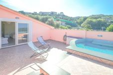Villa in Massa Lubrense - Villa Rosa With Private Jacuzzi, Parking and Sea View