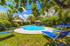 Villa in Massa Lubrense - Villa Claudia with private Pool, Sea View, Jacuzzi, Garden and Parking