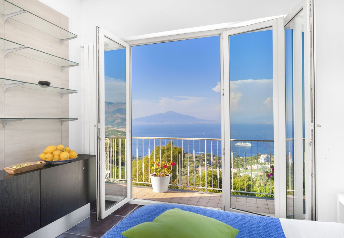 House in Sorrento - Casa Augusta A with Mini Pool, Sea View, Parking and Private Terraces