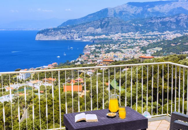 in Sorrento - Casa Augusta B with Private Terrace, Barbecue, Sea View and Parking