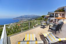 House in Sorrento - Casa Augusta B with Private Terrace, Barbecue, Sea View and Parking