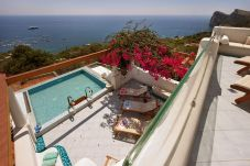Villa in Nerano - Villa Ariadne 1 with Dazzling Sea View, Jacuzzi, Pool and Breakfast