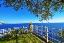 House in Praiano - Sea View Casa Glicine with Private Terrace, Parking and Direct Access to the Sea