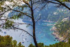 Villa in Capri - Villa Apollo with Swimming Pool, Sea View, Terrace and Garden