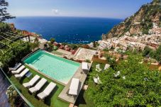 Villa in Positano - Villa Mimosa with Private Pool, Sea View, Air Conditioning, Positano Center