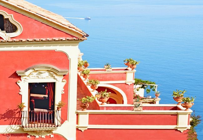 Villa/Dettached house in Positano - Villa del Vescovo with heated Pool, Sea View, Chef and Breakfast Ideal for Weddings