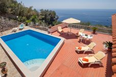 Villa in Nerano - Villa Luciana with Private Pool, Terrace, Parking and Sea View