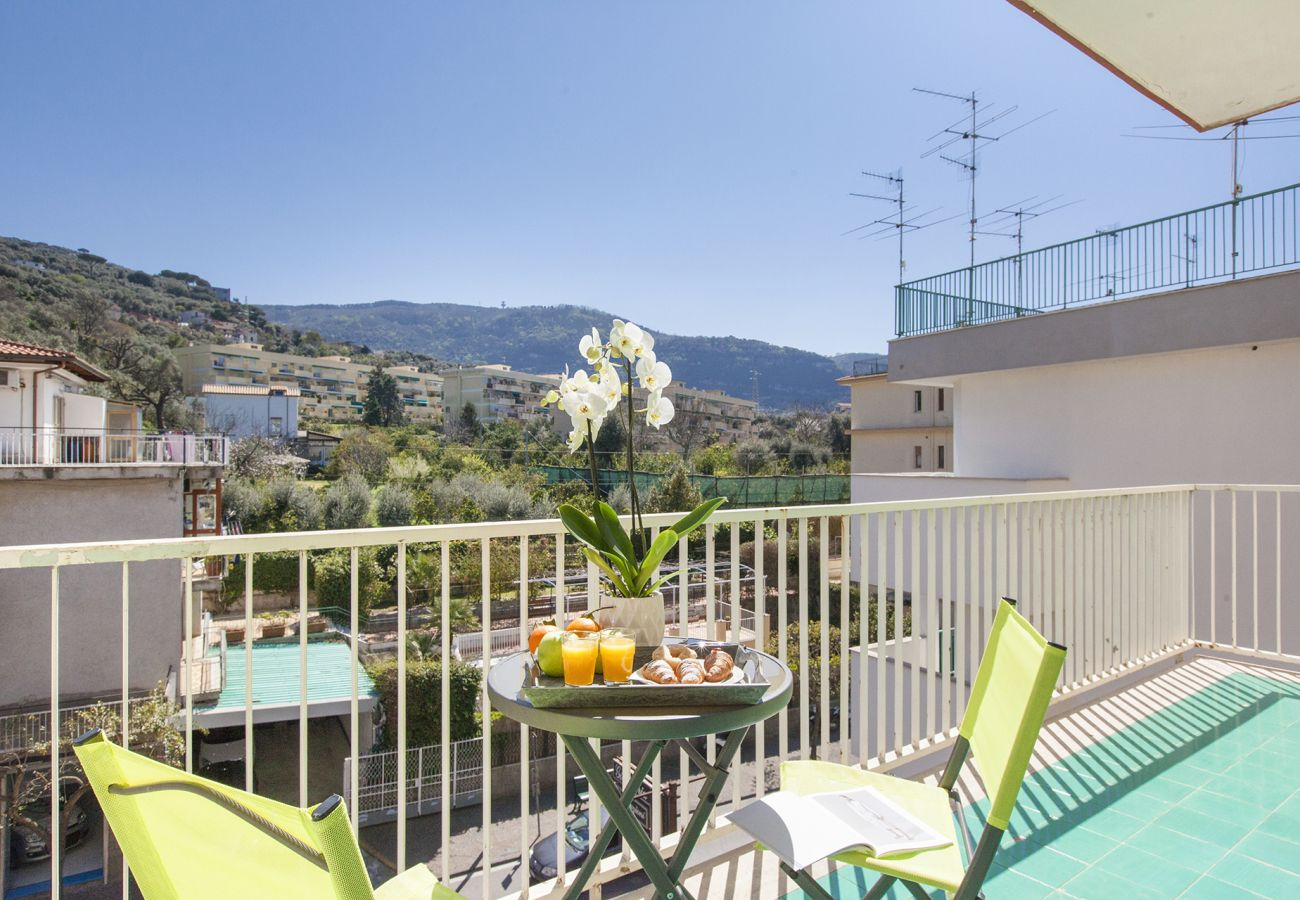 Apartment in Sorrento - Casa Chanel with Shared Pool, Terrace and Air Conditioning