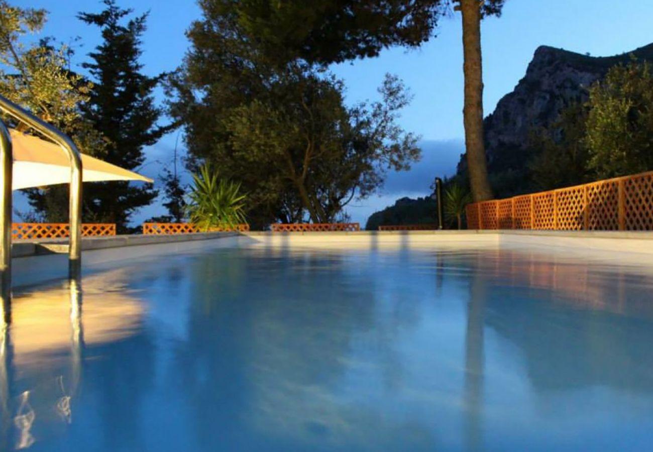 Villa in Massa Lubrense - AMORE RENTALS - Villa Marina with Private Pool, Sea View, Terraces and Parking