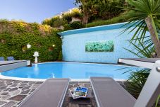 Villa in Sorrento - Villa Bianca 1 with Private Swimming Pool, Sea View, Terraces, Parking and Barbecue