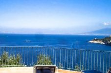 Villa in Massa Lubrense - Villa Lobra with Private Swimming Pool, Sea View, Terraces and Free Parking
