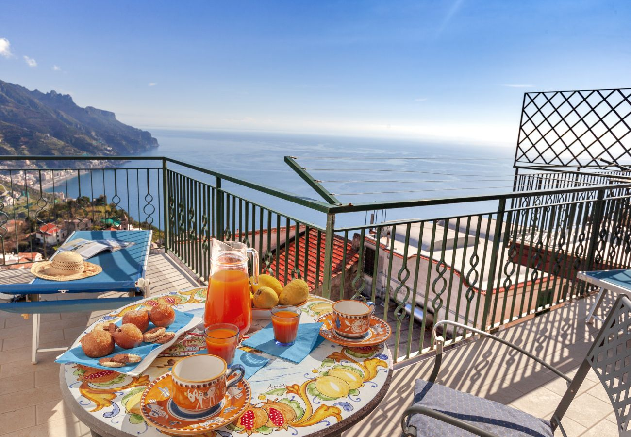 Apartment in Ravello - Residenza Rosalia with Sea View, Private Terraces and Air Conditioning