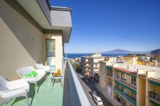 Apartment in Sorrento - Dellamura House with Shared Pool, Sea View, Terrace and Parking
