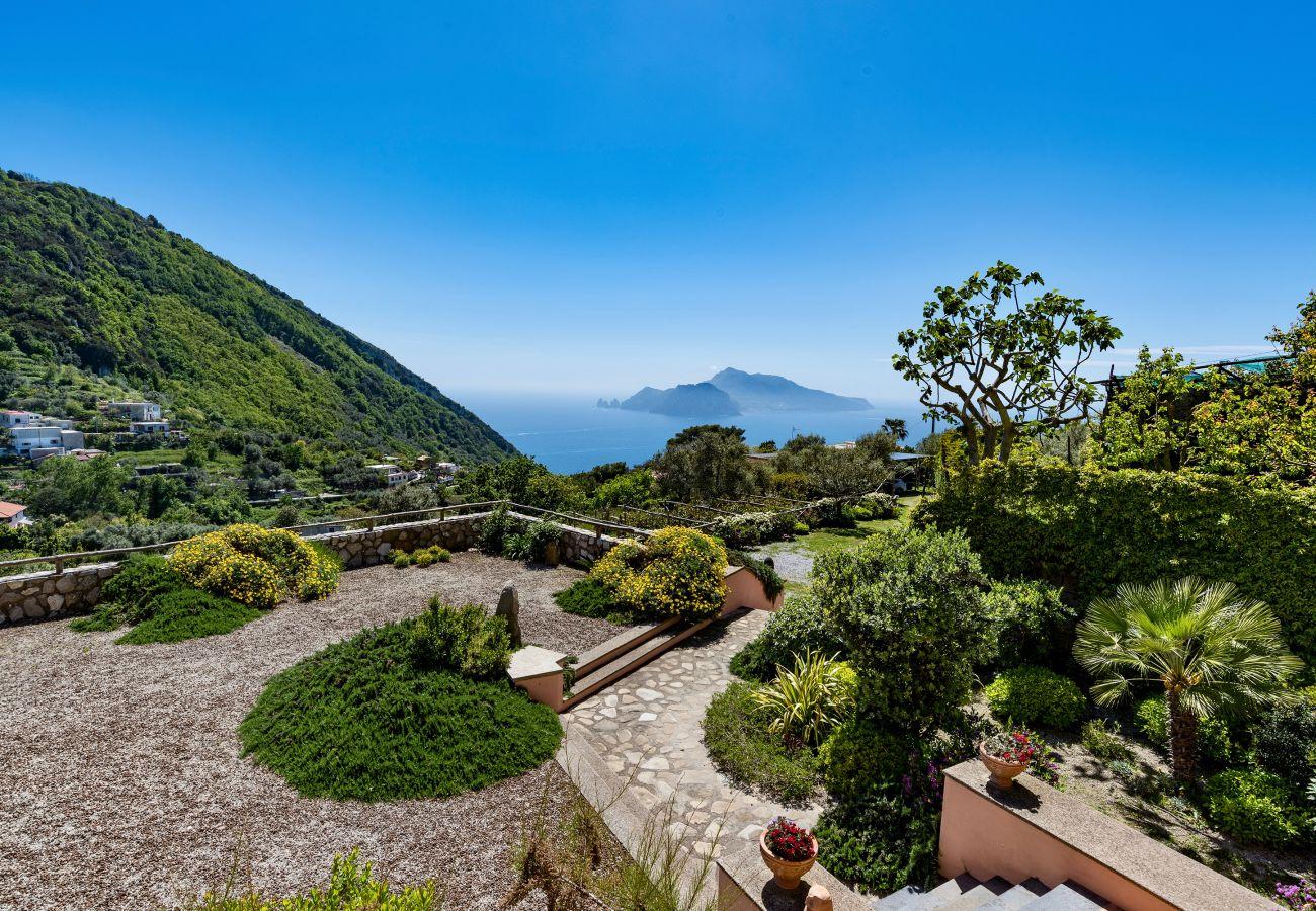 Villa in Massa Lubrense - AMORE RENTALS - Villa Gioconda with Private Swimming Pool, Sea View, Ideal for Weddings